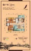 顺祥南洲1号3室2厅2卫117平方米户型图