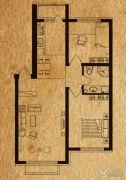 海德堡家园2室1厅1卫64平方米户型图