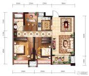 新建中心3室2厅1卫0平方米户型图
