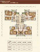 尚东名苑108--135平方米户型图