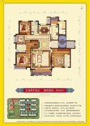 荣盛华府5室2厅4卫220平方米户型图
