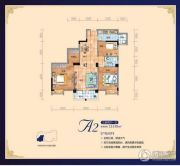 永辉茗筑1室2厅1卫68平方米户型图