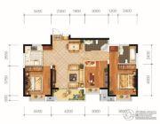 城投地产・智禧湾3室2厅2卫119平方米户型图