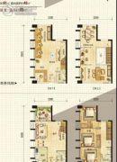 天泰时代星座3室1厅2卫0平方米户型图