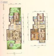 中梁・悦荣府4室2厅3卫162平方米户型图