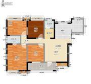 东岭国金中心4室0厅2卫100平方米户型图