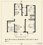 江南雅苑3室2厅1卫96--100平方米户型图