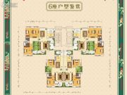 城建・世纪湾104--141平方米户型图