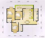 波兰尚龙城3室2厅2卫126平方米户型图