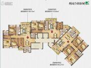 奥园合创新城110--140平方米户型图