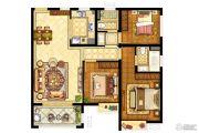 旭辉九著3室2厅2卫112平方米户型图