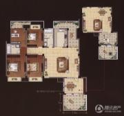 嘉城尚郡3室2厅2卫172平方米户型图