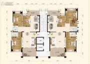 一品嘉园4室2厅2卫0平方米户型图