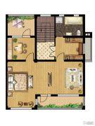 美岸栖庭 别墅3室1厅1卫0平方米户型图