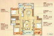 朗诗天萃3室2厅2卫122平方米户型图