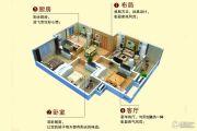 七里香溪 多层3室2厅1卫109平方米户型图