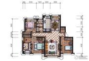 东港第3室2厅2卫154平方米户型图