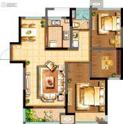 阳光100国际新城3室2厅1卫101平方米户型图