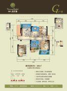 协丰・温哥华3室2厅2卫96平方米户型图
