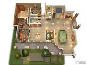 隆豪翡翠星城380平方米户型图