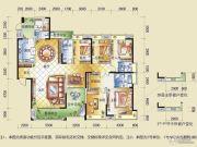 盈拓御江6室3厅4卫0平方米户型图