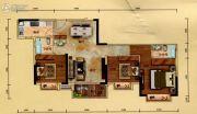 汇景城市中心3室2厅0卫0平方米户型图