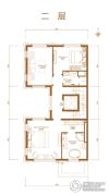 首创・禧瑞墅|河著4室2厅2卫273--316平方米户型图