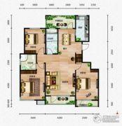 芭东海城3室2厅2卫130平方米户型图