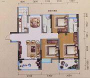 宏源领地3室2厅2卫112平方米户型图