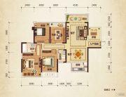 路桥锦绣国际4室2厅2卫133平方米户型图