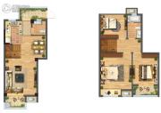 佳源都市3室1厅2卫0平方米户型图
