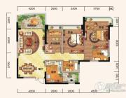 雅居乐十里花巷3室2厅2卫123平方米户型图
