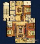 海星御和园3室2厅3卫172平方米户型图