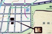 恒裕滨城二期交通图