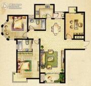 海门中南世纪城3室2厅2卫0平方米户型图