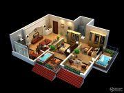 太白山水2室2厅1卫0平方米户型图