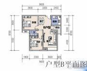 恩施机电汽配城2室2厅1卫80平方米户型图