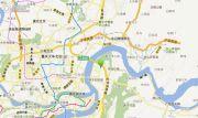 锦江小时代交通图
