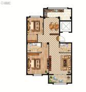 中正公馆2室2厅2卫97--113平方米户型图