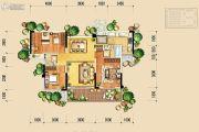 北大资源颐和翡翠府3室2厅2卫114平方米户型图