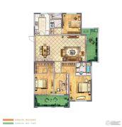 金新御园4室2厅2卫177平方米户型图