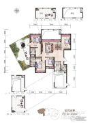 经典天成云墅4室2厅3卫0平方米户型图