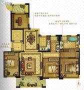 温州・奥体城4室2厅2卫141平方米户型图