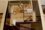 锦缘里嘉园1室2厅1卫60平方米户型图