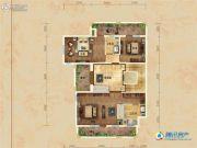 华贸公园郡3室1厅2卫327平方米户型图