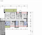 中国铁建贵安山语城4室2厅2卫0平方米户型图