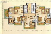 兴业花园3室2厅2卫139平方米户型图