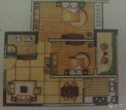永泰家园2室2厅1卫81平方米户型图