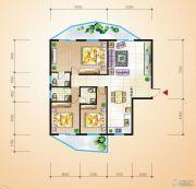 中恒兴・翰林福第3室2厅2卫174平方米户型图