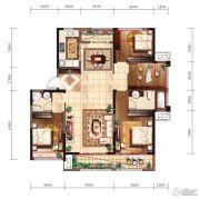 新建中心4室2厅2卫0平方米户型图